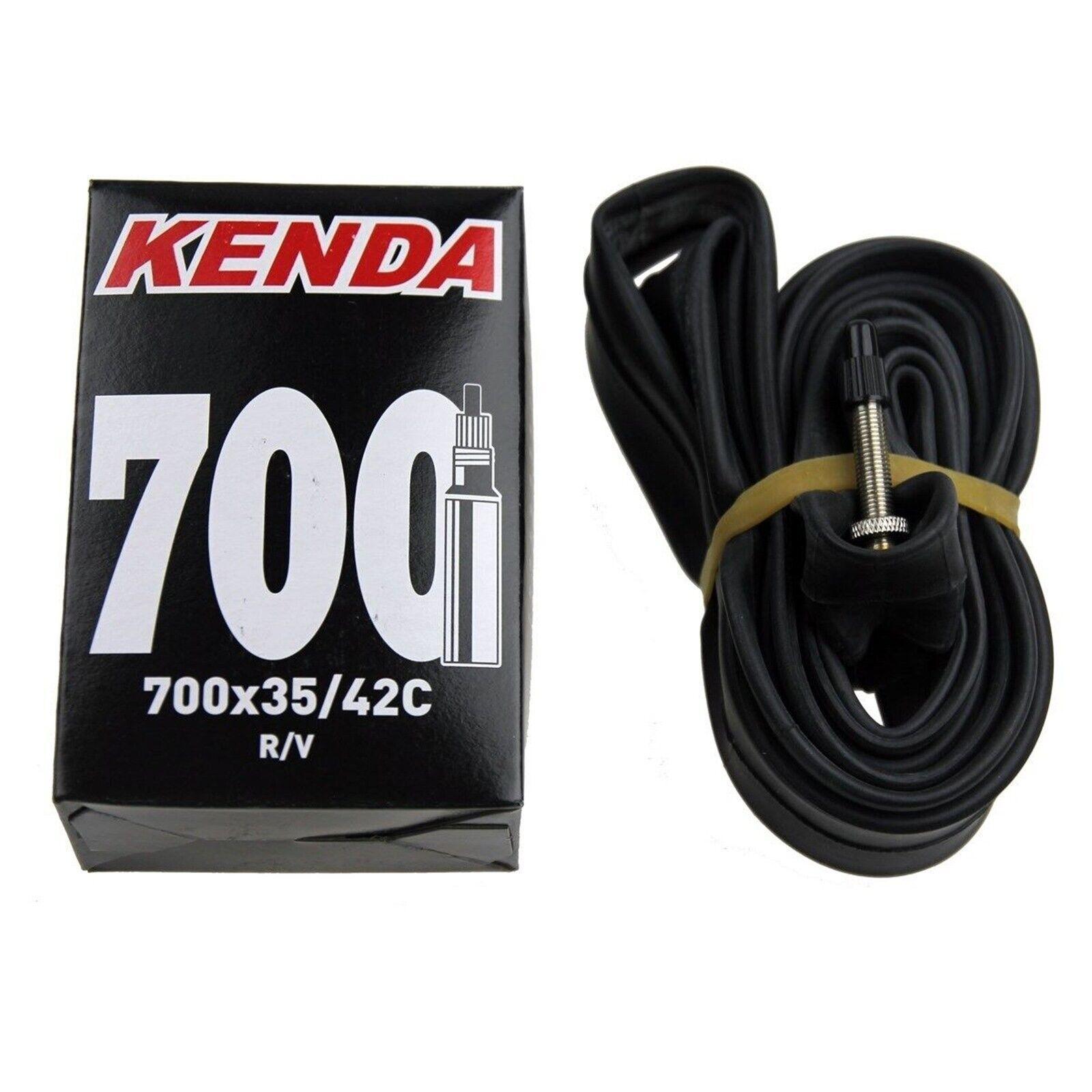 Kenda 700x20-28 80MM SMOOTH Extra Long Smooth Presta Valve Bike Tube Inner XL