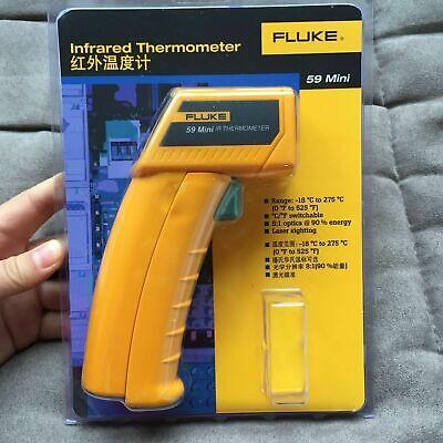 Fluke 59 F59 Mini Handheld Laser Ir Infrared Thermometer Gun 0525f Temp Tester