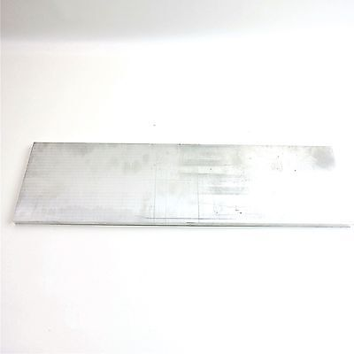 12 Thick .5 Aluminum 6061 Plate 5 X 24 Long Sku 137116