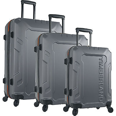 TIMBERLAND BOSCAWEN TORNADO 3 PIECE HARDSIDE SPINNER LUGGAGE SET  - $1080 VALUE