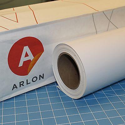 White Gloss Arlon 5000 1 Roll 24 X 10 Sign Cutting Vinyl