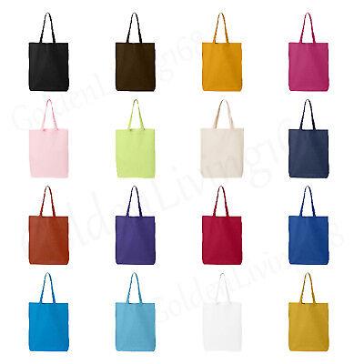 10pcs Tote Bag Reusable Shopping Grocery Travel Party Bulk Wholesale 16 Colors