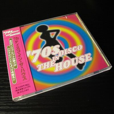 '70s Disco In The House JAPAN CD Mint W/OBI AVCD-11448 #13-2 - Disco In The 70s
