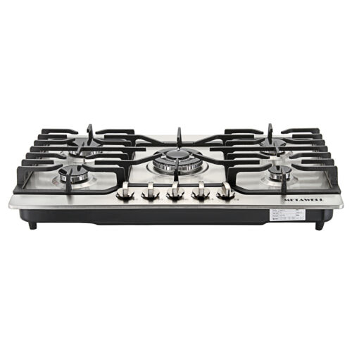"new 30"" Stainless Steel 5 Burner Built-in Stoves LPG/NG Gas"