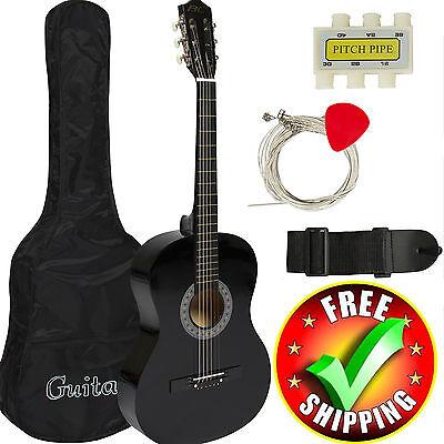 Small Guitar (Mini Acoustic Guitar Small Travel Kids Junior Children Beginners Youth)