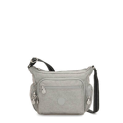 Kipling Gabbie Small Crossbody Bag Chalk Grey