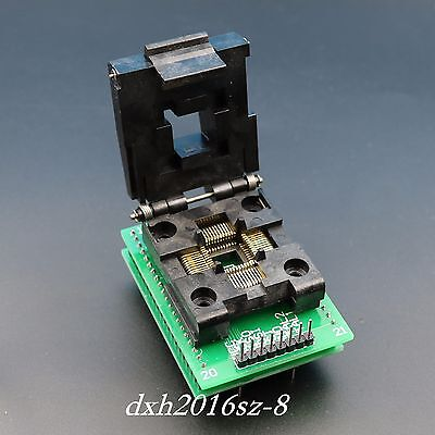 1pcs Qfp44 Tqfp44 To Dip40 Pitch 0.8mm Programming Adpter Ic Test Socket