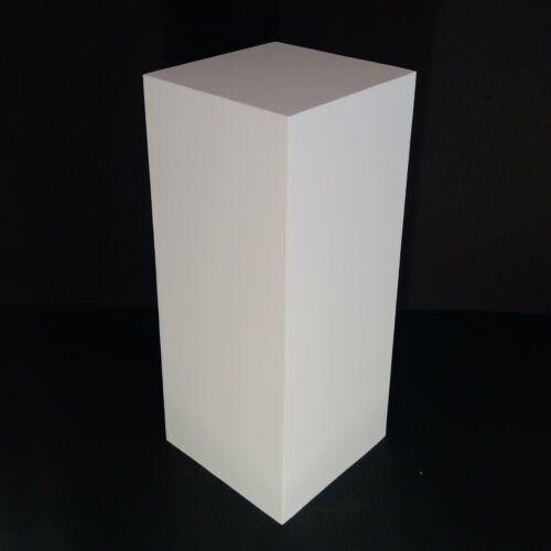 "25"" White Display Pedestal Stand Riser Column Pillar - Wedding Parties"