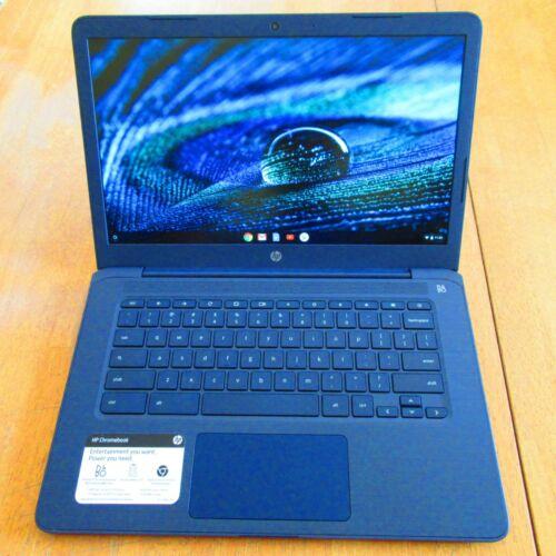 """HP 14-db0041wm Chromebook 14"""" FHD A4-9120C 1.6GHz 4GB RAM 32GB"""