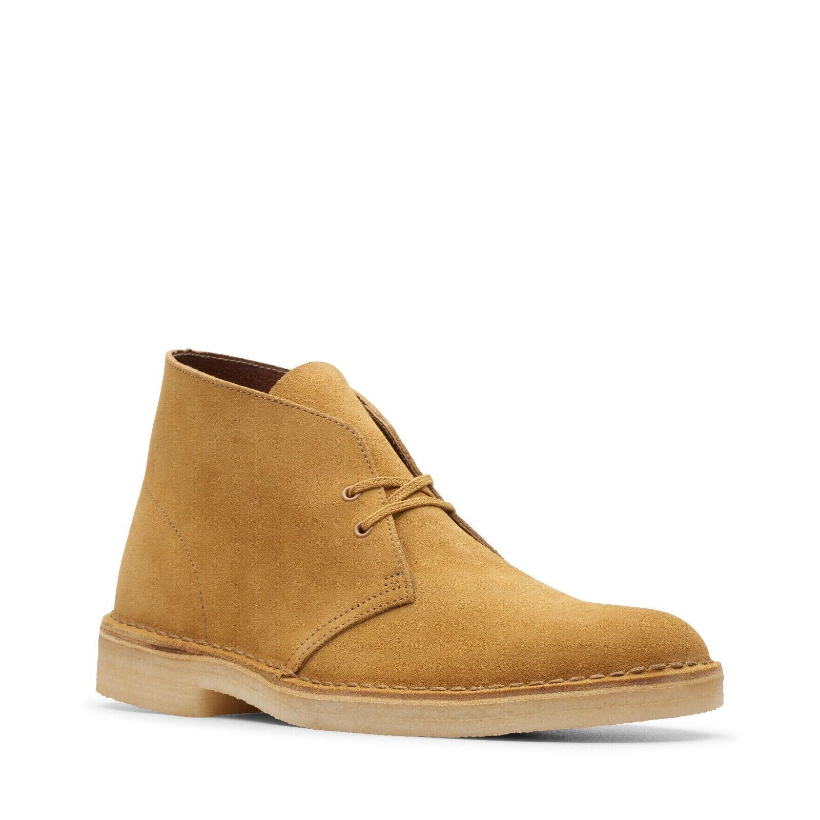 Clarks Originals Men's Desert Boots Oak Suede 26144231
