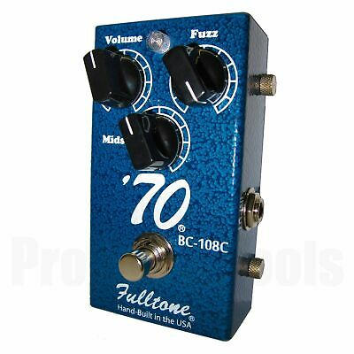 Fulltone 70-BC Fuzz - 1x opened box * NEW * high quality vintage fuzz