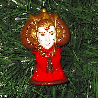 Star Wars QUEEN AMIDALA - Custom Christmas Tree Ornament Holiday Decoration