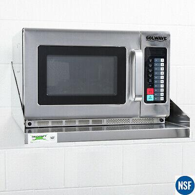Commercial Restaurant Kitchen Stainless Steel Microwave Shelf