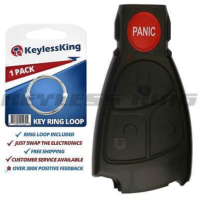 Replacement Smart Key Remote Keyless Case Button Shell Pad Fix Prox Intelligent