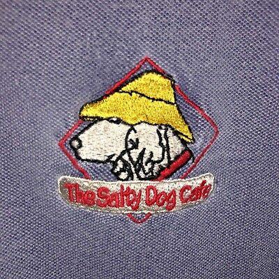 Vintage Pine Island Salty Dog Cafe Polo Shirt XL