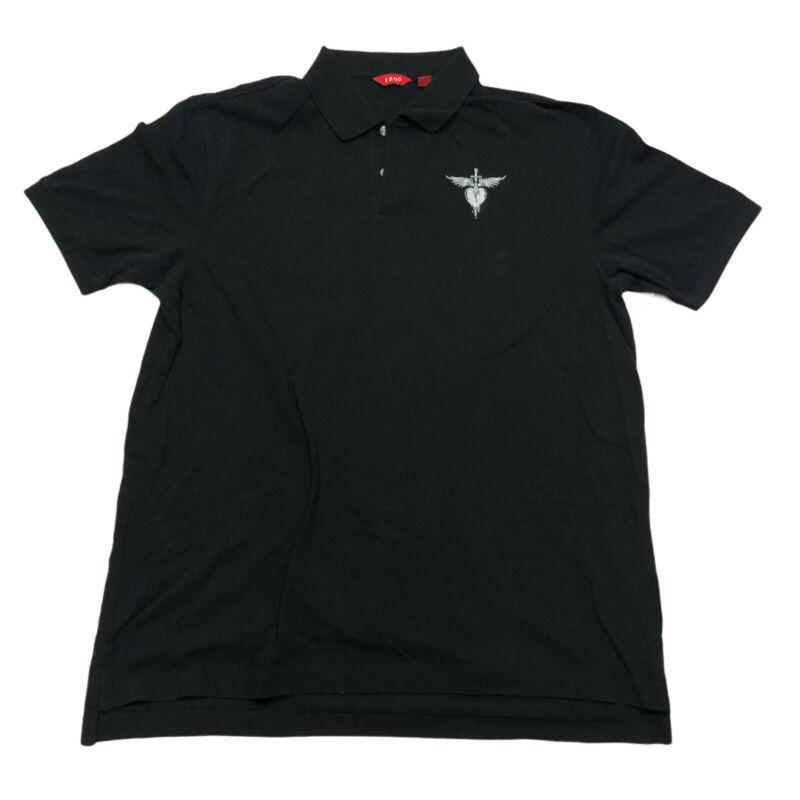 BON JOVI 2019 World Tour Men's Polo Shirt Size XL