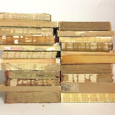 Naked Unbound Book Stack Decorative Rustic Wedding Centerpiece Vintage (Bridal Book)