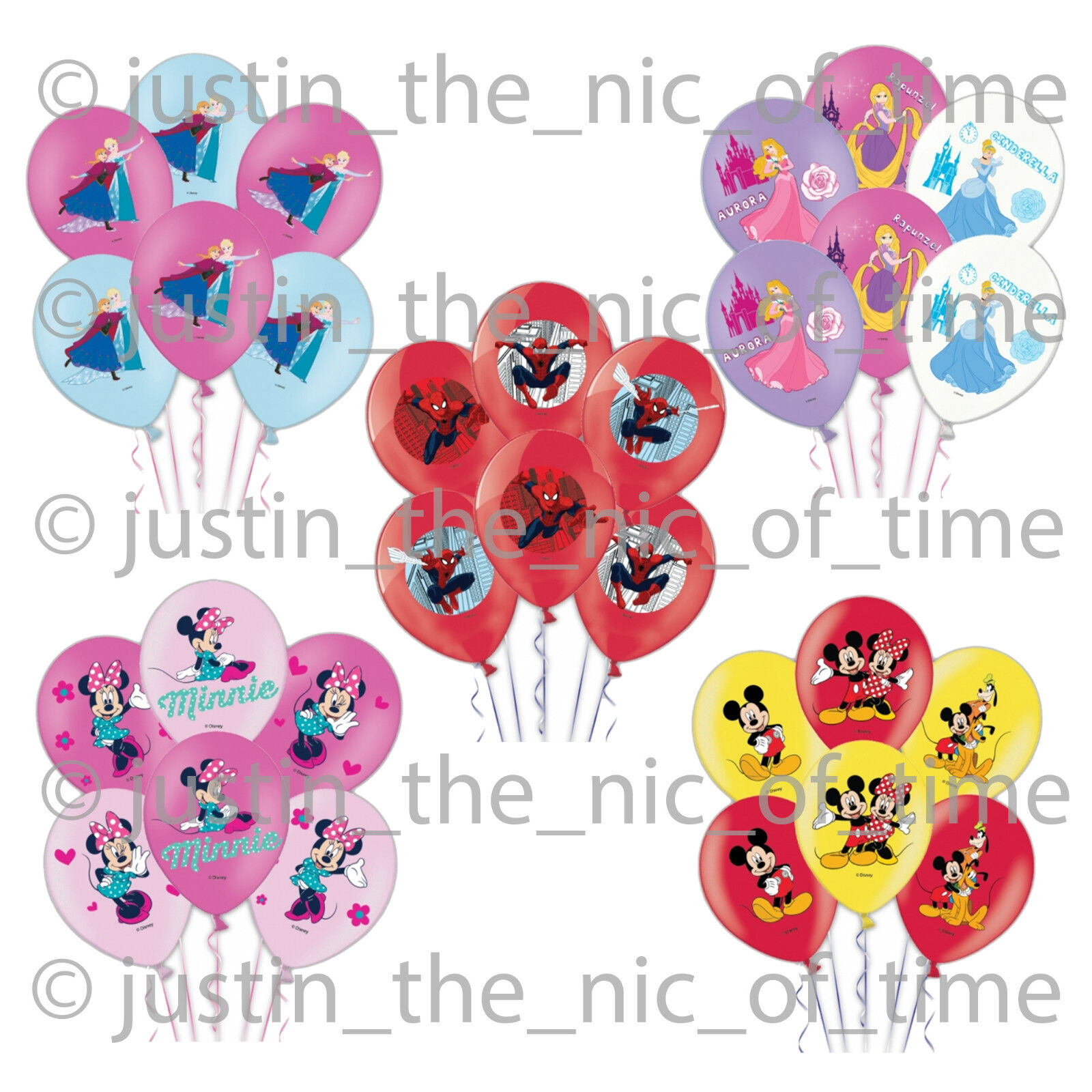 """6x Peppa Pig Latex Party Balloons Ideal children/'s Birthday Party Decoration12/"""""""
