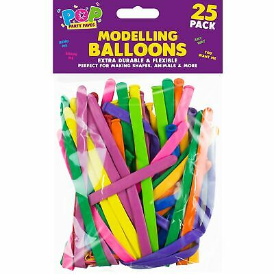 ung Verdrehen Ballons Geburtstagsparty Farben Dekoration (Verdrehen Ballons)