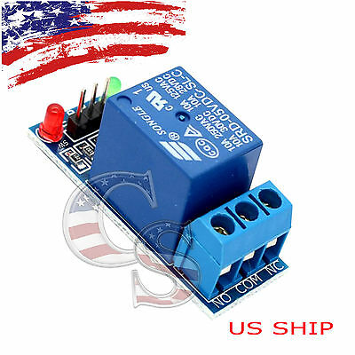 1 Channel Dc 5v Relay Switch Module For Arduino Raspberry Pi Arm Avr Dsp