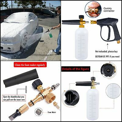 Foam Cannon Kit Blue 3d Mtm Adams Suds Direct Rv Torq Best Power Washer