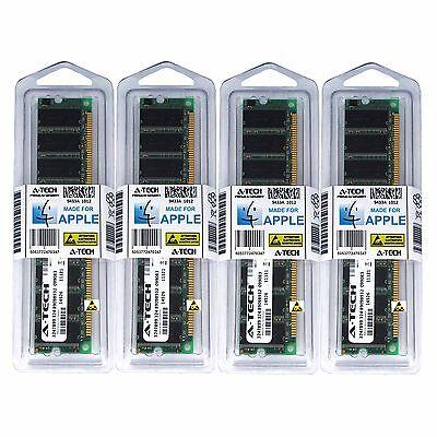4 Gb Pc3200 Kit (4GB Kit 4x 1GB PC3200 Apple Xserve G5 M9745LL/A M9742LL/A M9742LL/A Memory)