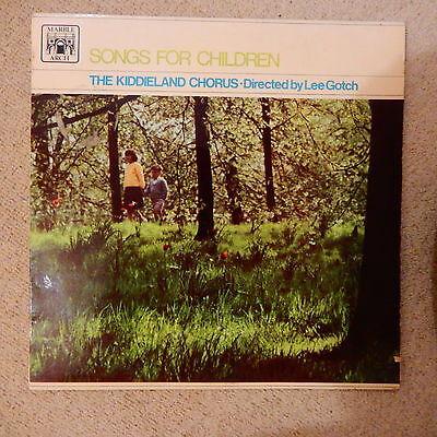 SONGS FOR CHILDREN - KIDDIELAND CHORUS Vinyl LP  MAL 587  Very Vintage. Rare !!!