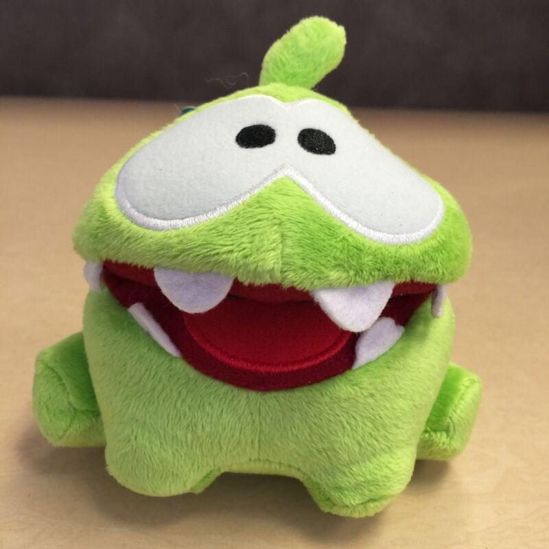 NEW, Cut The Rope 5 Inch Hungry Om Nom Toy