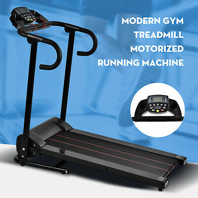 Folding Electric Treadmill Motorized Running Machine Portable Cardio Equipment