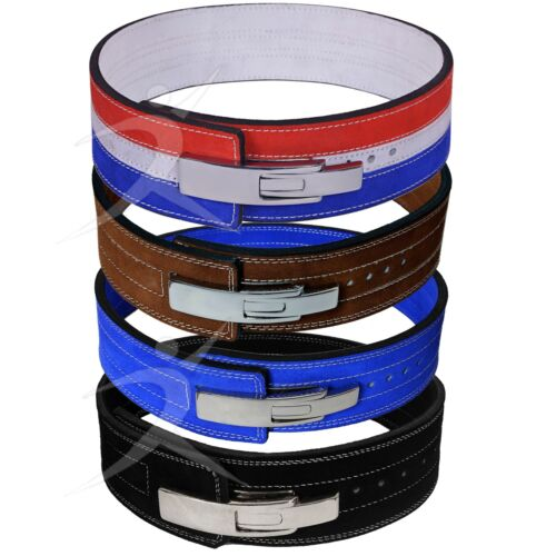ARD CHAMPS™ Weight Power Lifting Leather Lever Pro Belt Gym Training