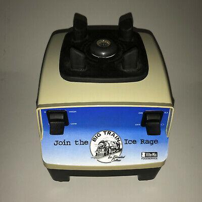 Vitamix Commercial Food Preparing Machine Vmo100 120v 5060hz 11.5amps Base Only