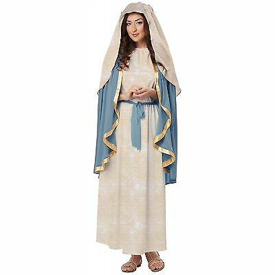 Holy Bible Biblical Virgin Mary Religious Adult Costume - Costume Bible