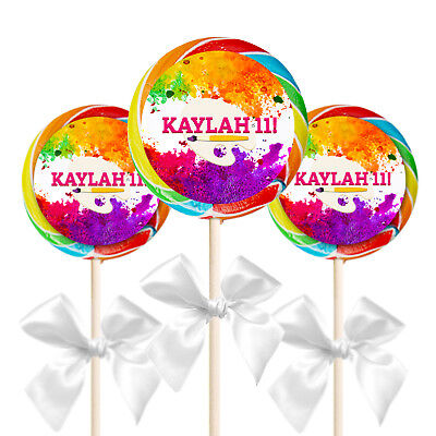 12 Art Painting Paint Birthday Party Favors Personalized 2.5