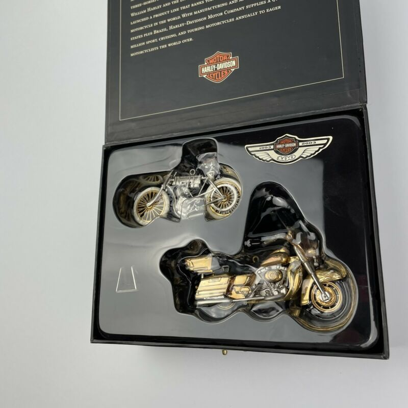 Harley-Davidson Hallmark Keepsake 100th Anniversary Edition set of 2 Ornaments