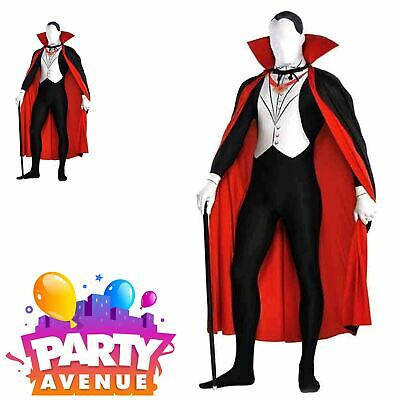 Halloween Vampire Party Suit Dress Up Adults Fancy Dress Dracula ()