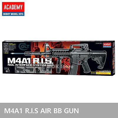 ACADEMY M4A1 R.I.S Airsoft BB Toy Gun Replica Full 1:1 Size Non Metal Pistol comprar usado  Enviando para Brazil