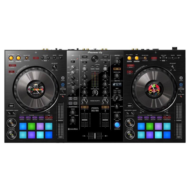 Pioneer DDJ-800 2 Channel Portable DJ Controller - Black
