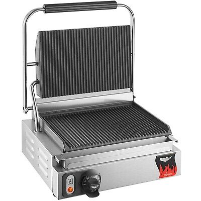 Avantco Double Commercial Panini Sandwich Grill With Smooth Plates - 120v 3500w