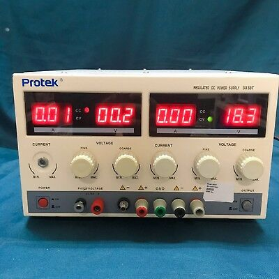 Protek3033t Dc Power Supply