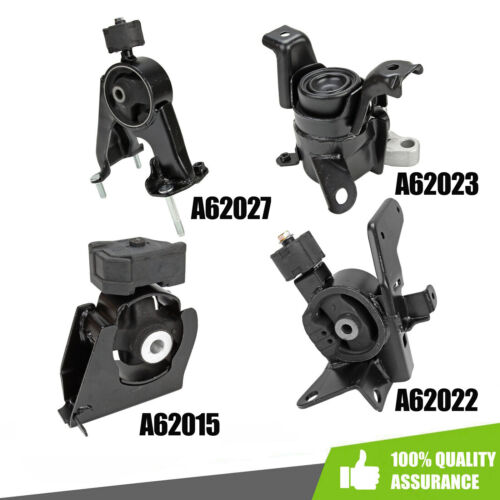 Engine Motor /& Trans Mount 4PCS Set for Pontiac Vibe// Toyota Corolla Matrix 1.8L