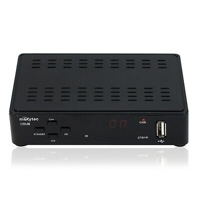 Maxytec i100sR 4K UHD HEVC Mediaplayer Streaming Box Schwarz