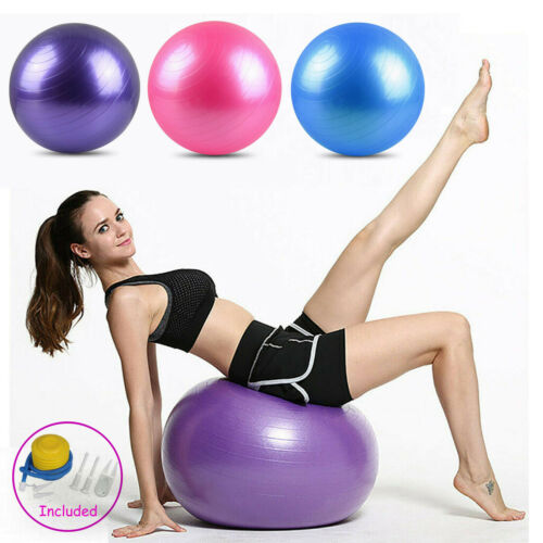 Exercise Ball Fitness Workout & Chair Pregnancy Ball Anti-Burst Yoga Pilates