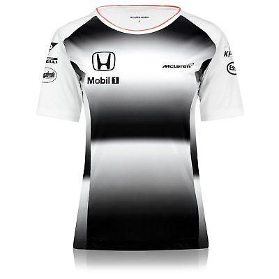 Camiseta Oficial Talla:M Equipo McLaren Honda F1 Mujer 2016 Envío desde España