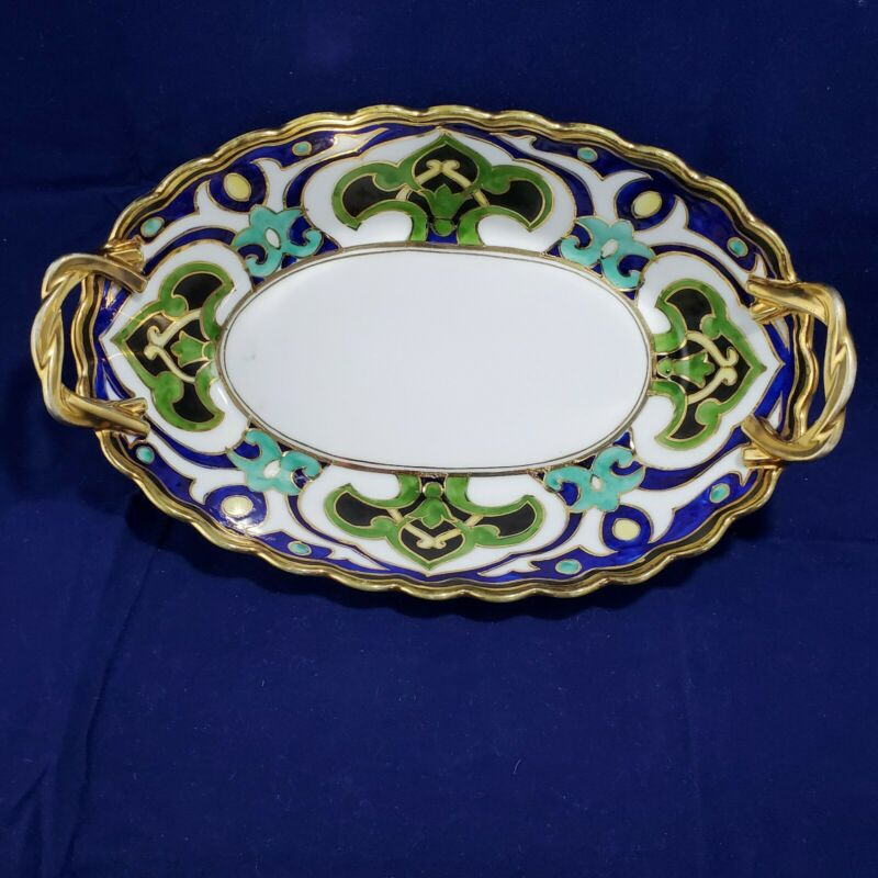 Nippon Hand Painted Serving Bowl