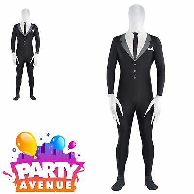 Halloween Party Suite Slender Man Fancy Dress  (Halloween Slenderman Kostüme)