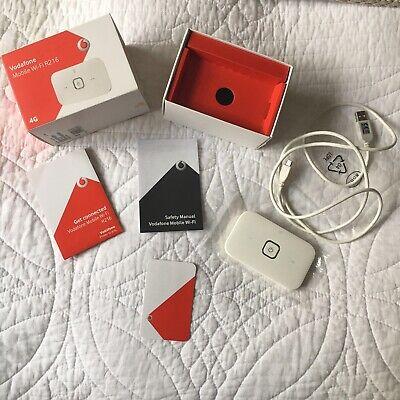 Vodafone R216 4G LTE Mobile Broadband Wi-Fi Hotspot Router - original content
