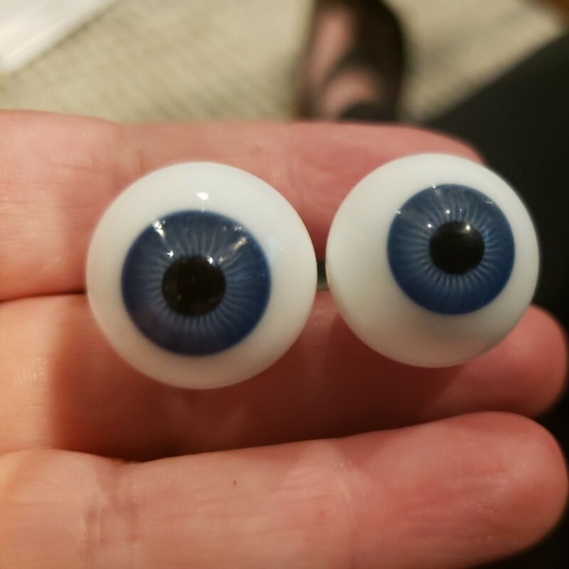 20mm blue Glass Eyes From Kais