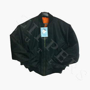 MA1-SECURITY-DOORMAN-PILOT-BIKER-FLYING-ARMY-BOMBER-JACKET