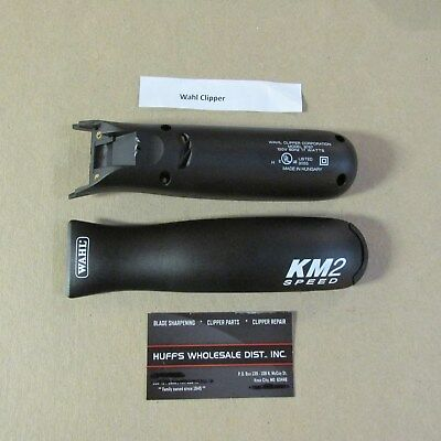 New>> Wahl KM-2 Clipper Replacement Parts  Top & Bottom CASE