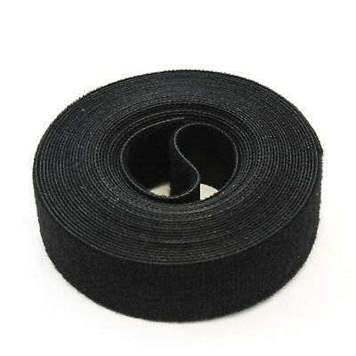 15FT REUSABLE 1 Inch Roll Hook & Loop Cable Fastening Tape Cord Wraps - Wire Fastener